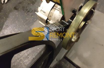 Заміна приводного ременя велотренажера